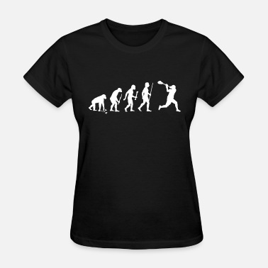 Lacrosse Teen Wolf Lacrosse - Evolution of Man and Lacrosse Funny S - Women's T-Shirt