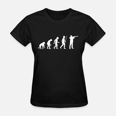 Air Rifle Shooting Shooting - Evolution Shooting - Women's T-Shirt