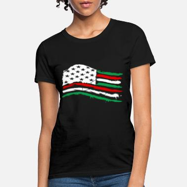 Usa Italia flag - Women's T-Shirt