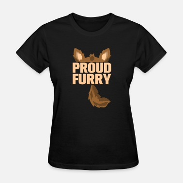 Furry Fox furry tshirt - Women's T-Shirt