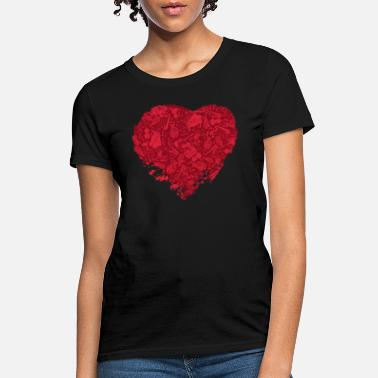 Music Is Life Music Is Love - Women's T-Shirt