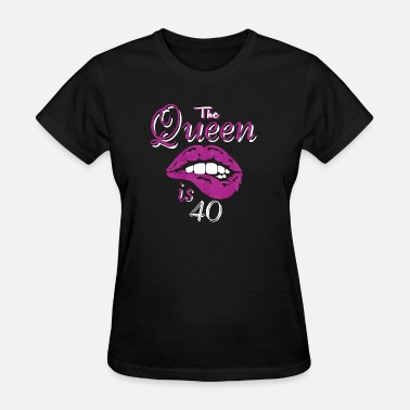 40s the queen is 40 - Women's T-Shirt