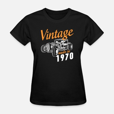 Made In 1970 Vintage made in 1970 - Women's T-Shirt