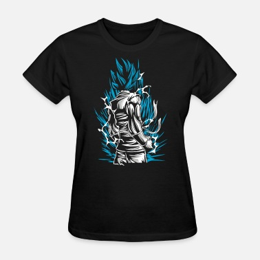 Saiyan Blue Saiyan God Blue Goku - Women's T-Shirt