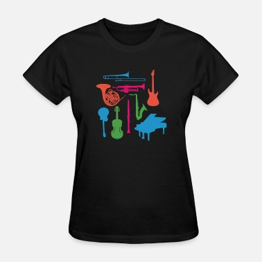 Mellow Music Musical Instruments - Women's T-Shirt