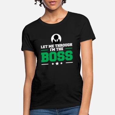Boss Monster Boss - Women's T-Shirt