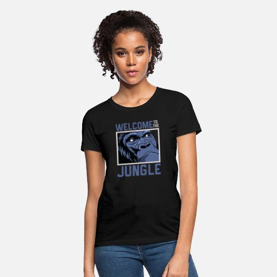 Jungle T-Shirts - Welcome to the Jungle - Women's T-Shirt black