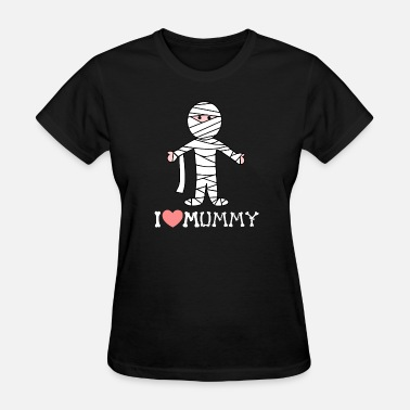 Mummy Heart Halloween Halloween mummy - Women's T-Shirt