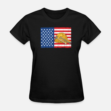 Labor Day Labor Day - Labor Flag - Women's T-Shirt