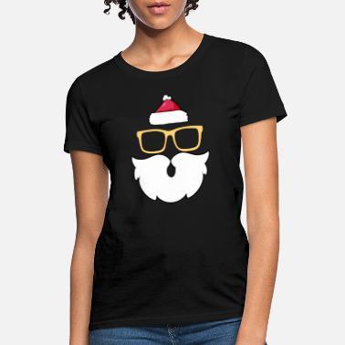 d65f6951f21 santa Claus Beard Mustache Hipster - Women  39 s ...