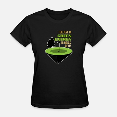 18-hole Golf Golf - Women's T-Shirt