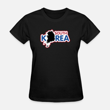 South Korea Flag North Korea South Korea Korea flag banner - Women's T-Shirt