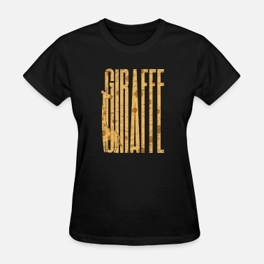 Giraffes Neck giraffe gift dotted neck legs - Women's T-Shirt