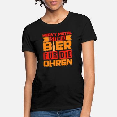 Mosh Heavy Metal Beer Festival Conzert Funny Gift Idea - Women's T-Shirt