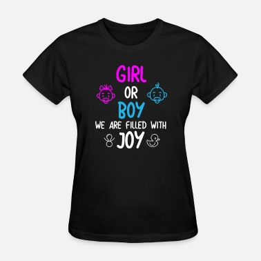 Baby Shower Gender Reveal Baby Shower Gender Party - Women's T-Shirt