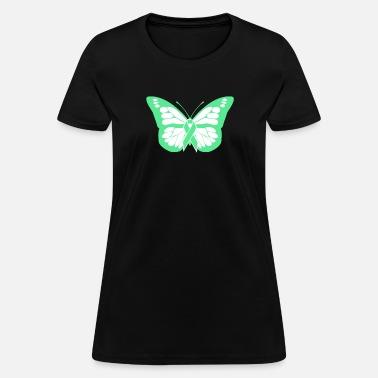 8215c9ca Butterfly - Non-Hodgkin's Lymphoma Awareness Women's T-Shirt ...