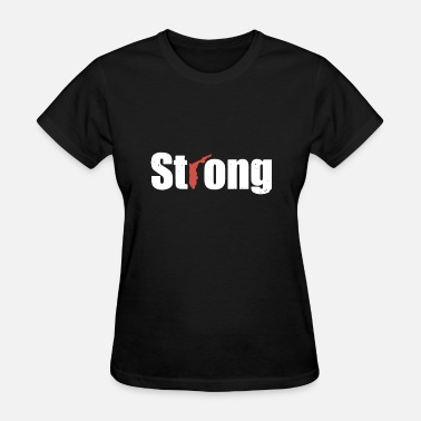 Strong Florida Red Cross Charity hunt - Women's T-Shirt