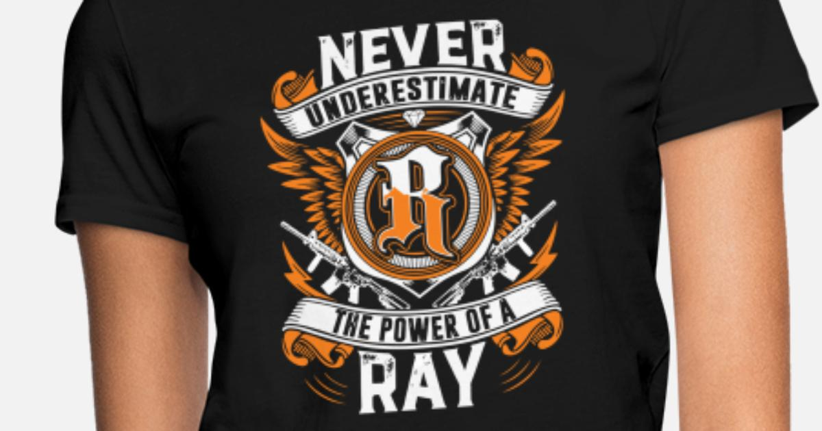 b3e5bf6afa1fc never underestimate the power of a Ray gun Women s T-Shirt