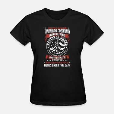 i once took a solemn oath to defend the constituti - Women's T-Shirt