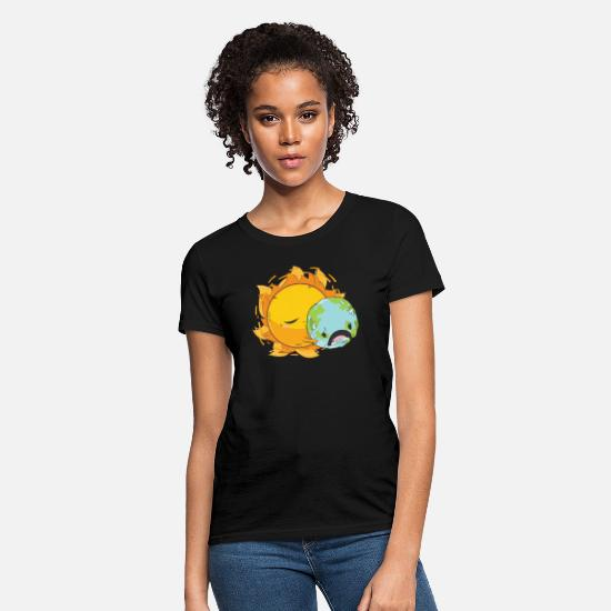 Nature Conservation T-Shirts - Climate Protection Earth Day Nature Conservation T - Women's T-Shirt black