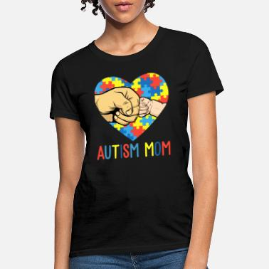 Walk autism mom awareness family happy funny autism - Women's T-Shirt