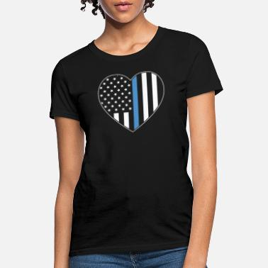Policewoman Police Law Enforcement Shirts - Women's T-Shirt