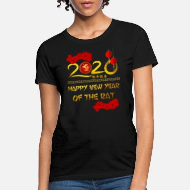 Eve 2020 Year of The Rat Happy Chinese New Year Gift - Women's T-Shirt
