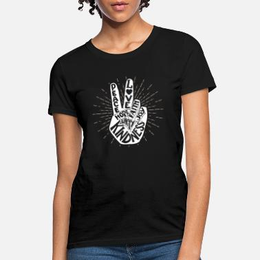 Bullying Anti Bullying Be Kind Peace Hand Sign Unity Day - Women's T-Shirt