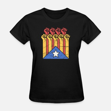 Flag Of Catalunya Independence For Catalonia | Catalunya Flag - Women's T-Shirt