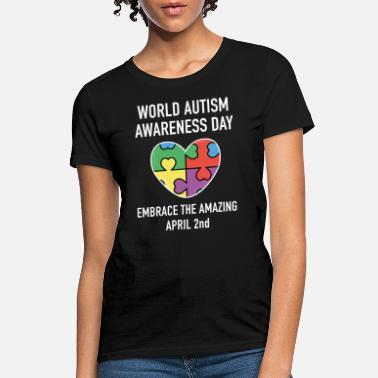 Autism Awareness Day World Autism Awareness Day - Women's T-Shirt