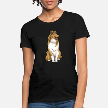 Rough Rough Collie Dog Breed - Women's T-Shirt