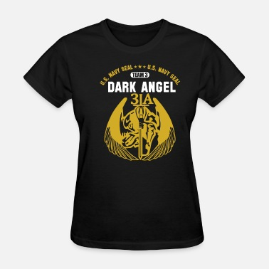 Us Army Seal NAVY SEAL US ARMY SPECIAL FORCE DARK ANGEL TEAM - Women's T-Shirt