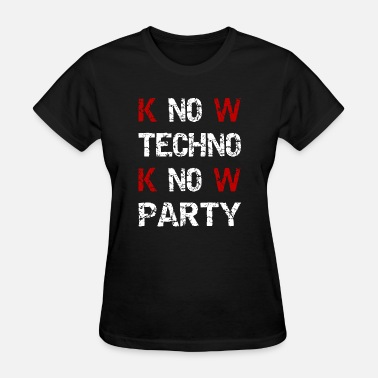 Music Techno Techno - Techno music - Party - Women's T-Shirt