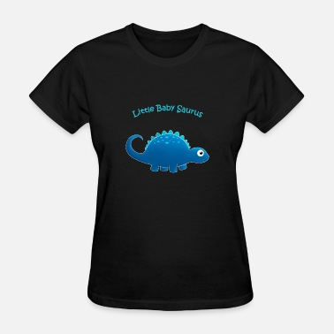 Littlebabysaurus Blue Little Baby Saurus - Women's T-Shirt