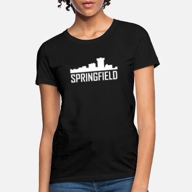 Springfield Springfield Missouri City Skyline - Women's T-Shirt