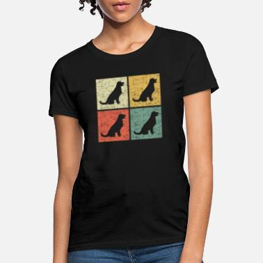 retro dog - Women's T-Shirt