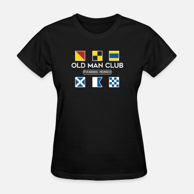 The Old Man Club Old Man Club White Ink - Women's T-Shirt