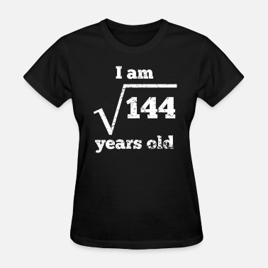12th Birthday 12th Birthday Square Root - Women's T-Shirt