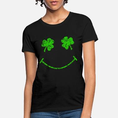 St Patty S St Patty s Day Makes Me Smile Funny Gift irish T S - Women's T-Shirt