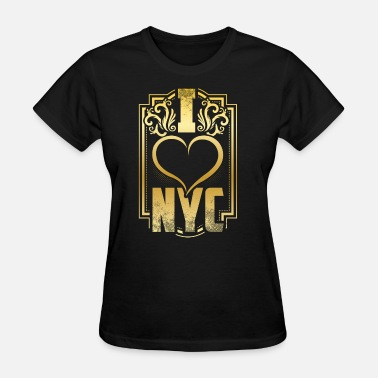 Gun Nyc New York I love New York gift - Women's T-Shirt