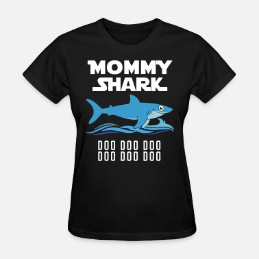 mom shark mom - Women's T-Shirt