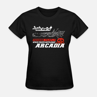 Albator Captain Harlock Space Battleship Arcadia - Women's T-Shirt