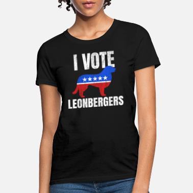 Election Sarcasm Leonberger Dog Owner Vote Elections Sarcasm Gift - Women's T-Shirt