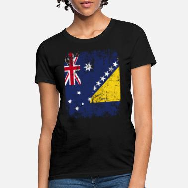 Herzegovina AUSTRALIA BOSNIA AND HERZEGOVINA FLAG - Women's T-Shirt