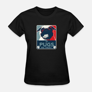 We Love Animals Pugs – We love pugs - Women's T-Shirt