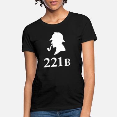 42b7d408cc45 Sherlock Sherlock Holmes 221B - Women  39 s T-Shirt