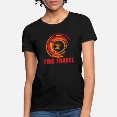 Futuristic Time Travel Time Machine Future Futuristic City - Women's T-Shirt