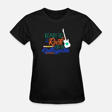 Kindergarten Rocks Ready To Rock Out In Kindergarten T-Shirt Gifts - Women's T-Shirt