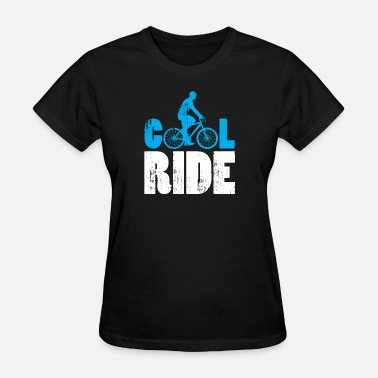 Cool Kids Cool Ride Bicycle gift kids present christmas - Women's T-Shirt