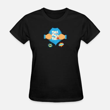 Birthday Kid Superhero Kids Birthday Super Kids 5th Birthday - Women's T-Shirt